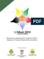 Dossier L'Alhorí 2013
