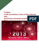 ¡¡Feliz Año!!