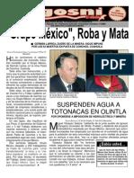 KGOSNI 122-GRUPO MÉXICO, ROBA Y MATA
