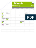 March Calendars Dynamites and Company