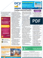 Pharmacy Daily for Fri 01 Mar 2013 - Mental health, Aussie hospitals, Early flu shots, Aged care learning and much more...