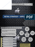 Retail Strategy of Apple