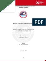 Analisis y Disen~o de Puentes Colgantes-Tesis PUCP