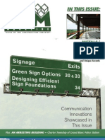 CAM Magazine October 2008 – Metals/Steel, Signage