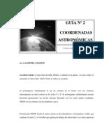 COORDENADAS ASTRONOMICAS