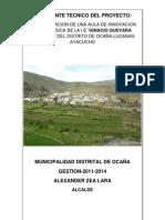Memoria y Especificaciones Tecnicas IE IGNACIO GUEVARA CALDERON