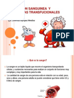 Transfucion Sanguinea y Alternanivas Transfucionales