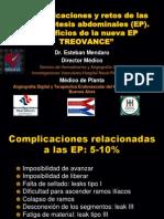 Complicaciones y retos de las endoprotesis abdominales