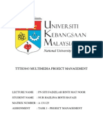 Multimedia Project Management by A131125
