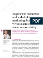 Responsible Consumers and Stakeholder Marketing