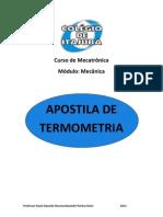 Apostila Termometria - Capítulo 1