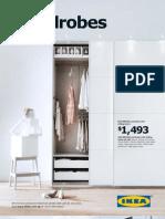 IKEA Range Brochure Wardrobes 2012