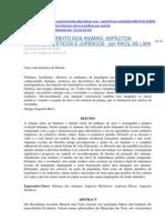 LIMA, RACIL de Direito Dos Animais Aspectos Historicos Eticos e Juridicos 78p