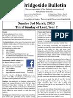 2013-03-03 - 3rd Lent Year C