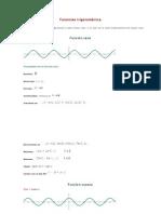 Funciones trigonométrica