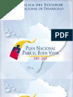 Plan Nacional Para El Buen Vivir