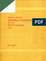 Pujol, Emilio (1886-1980)_Escuela Razonada de La Guitara (Libro 2)