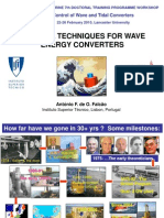 Wave energy converter Control