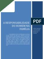 A Responsabilidade Do Homem Na Familia
