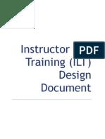 ILT Design Document