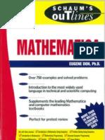 Schaum's Outlines - Mathematica