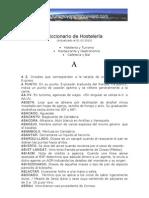 Diccionario de Hostelera