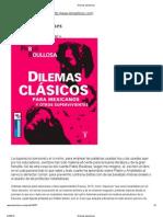 Domínguez Michael, Christopher - Dilemas atenienses