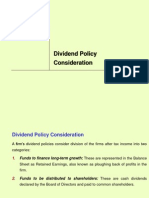 CH-12 (Dividend Policy Consideration)