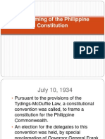 The Framing of the Philippine Constitution.ppt