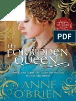The Forbidden Queen by Anne O'Brien - Chapter Sampler