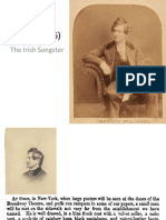 The Life and Career of Irish Songster Barney Williams (1824-1876)