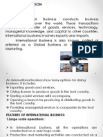 International Business unit 1