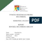 Report Bengkel Multimedia Kreatif