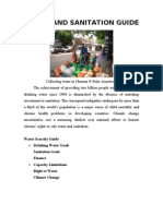 Water and Sanitation Guide