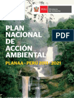 Plan Nacional de Acción Ambiental - PLANAA PERÚ 2011-2021
