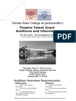 POSTER Grant Auditions2013[1][1]