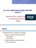 ECE 545—Digital System Design with VHDL