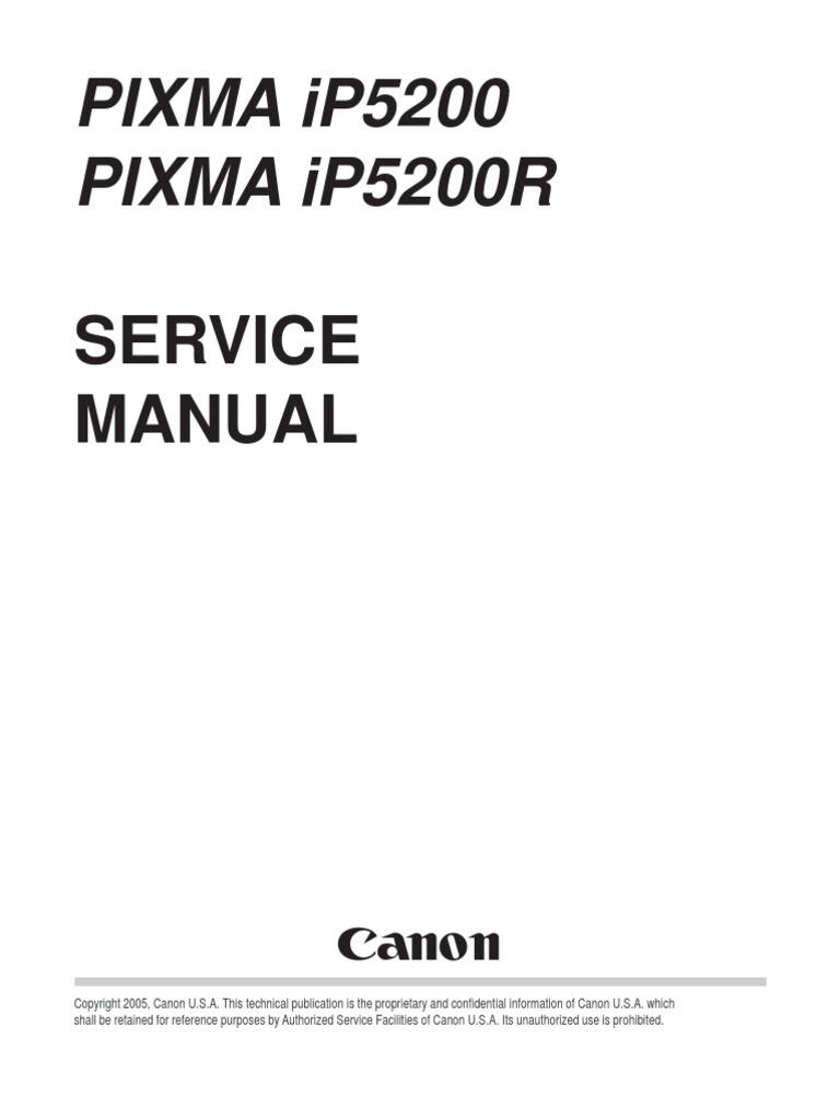 ip4200 service manual