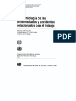Epidemiología y Enfermedades Profesionales