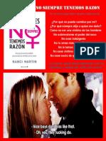 Libro Las mujeres no siempre tenemos razón. pdf.pdf
