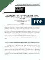 Una Aprox Al Analisis de Los Interc Com y Ling