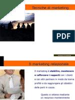 Tecniche e strategie di marketing