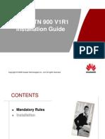 94523878 OptiX RTN 900 V1R1 Installation Guide VDF