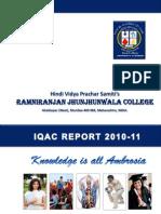 IQAC Report 2010-11