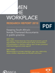 CA - Woman in Workplace Report (2) 2013