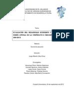Evaluacion del desarrollo economico y productivo del rubro apicola de la cooperativa chinampa