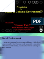socialculturalenvironmentppt-120718220146-phpapp02