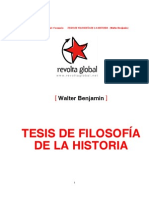 Tesis de Filosofía de la Historia.