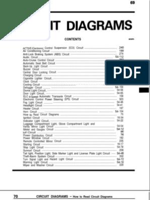 Mitsubishi Galant Circuit Diagram.pdf   Fuel Injection   Ignition SystemScribd