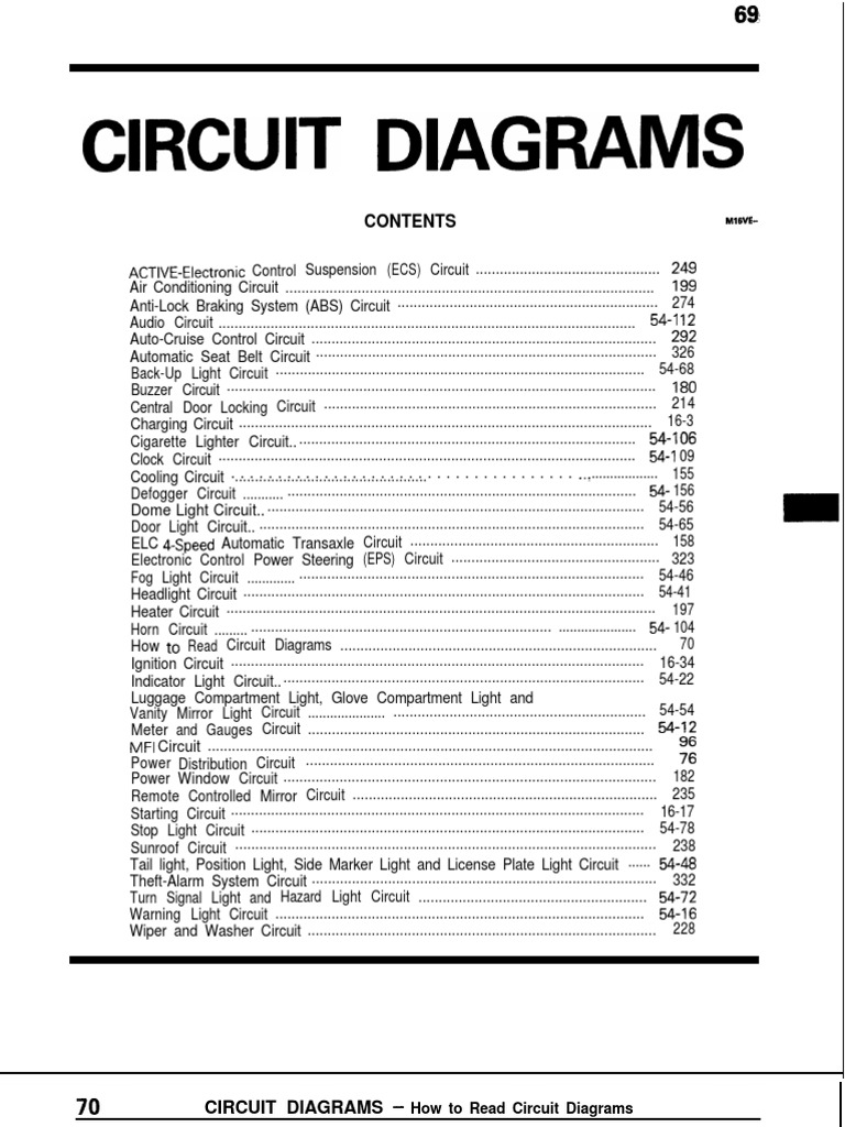 Mitsubishi Galant Circuit Diagrampdf Changeover Switch Fan Coil Wiring Diagram